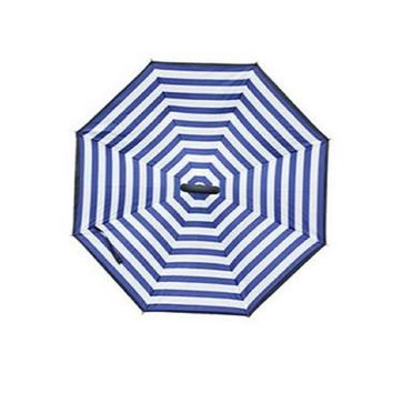 Topsy Turvy Inverted Umbrella Navy Stripes