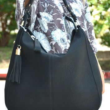 Timeless Treasure Bag - Black
