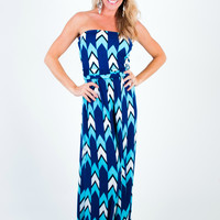 I Dream of Jeannie Chevron Romper Jumpsuit