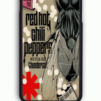 iPhone 6 Case - Rubber (TPU) Cover with red hot chili peppers  Rubber Case Design