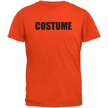 Halloween Costume Costume Orange Adult T-Shirt