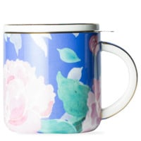 In The Garden Pink Peony Mug With Infuser - T2 EU | T2 Tea GB
