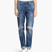 H&M Boyfriend Low Jeans $20