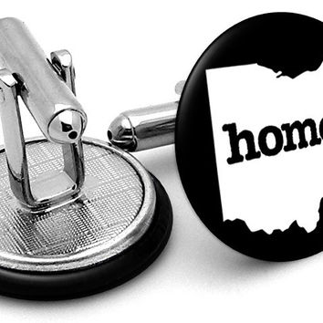 Ohio Home State Cufflinks