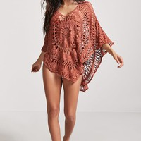 Open Crochet Swim Cover-Up