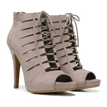 Women's Tahoe Lace Up Peep Toe Bootie