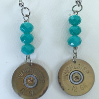 Beaded Dangle 12 Gage Earring