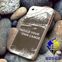 Paddle Your Own Canoe Vintage 201 For iPhone Case Samsung Galaxy Case Ipad Case Ipod Case