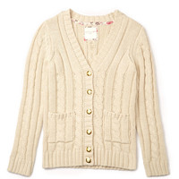 Classic Cable Knit Cardigan (Kids)