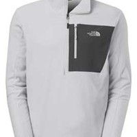 Gliks - The North Face Tech 100 Half Zip Pullover in High Rise Gray for Men
