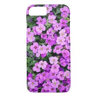 Cute Pale Pink Flowers iPhone 7 Case