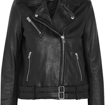 IRO - Jone leather biker jacket
