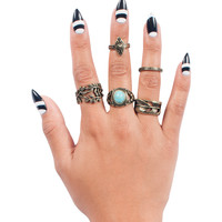 Antique Mystique Ring set