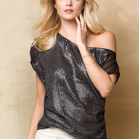 Off-the-Shoulder Sequin Blouse - Victoria's Secret
