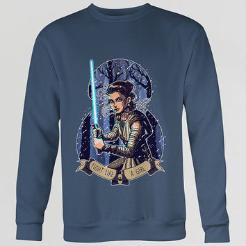 Fight Like A Girl, Rey Unisex Sweater