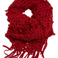 Lucky Brand Crochet Infinity Scarf | Nordstrom