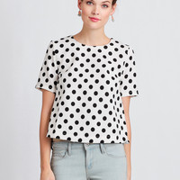 Darla Polka Dot Top