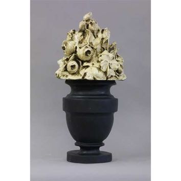 BELLACOR HF68450OYS Oyster French Garden Bouquet Statue  - (In OYS - Oyster Shell)