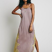 Intimately Womens Lace Side Maxi Slip