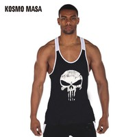 Bodybuilding Fitness Men Tank Top Sportswear Vest Stringer Undershirt Singlets Muscle Tank Tops