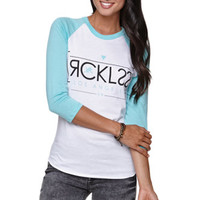 Young & Reckless Mirror Raglan Tee at PacSun.com