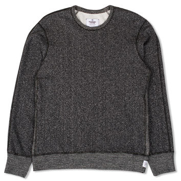 LS Crewneck Sweatshirt (Black/Natural)