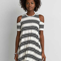 AEO Cold Shoulder Dress , Cream