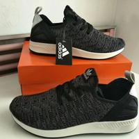 """""""Adidas"""" Men Sport Casual Fashion Breathable Comfortable Flyknit Sneakers Running Shoes"""