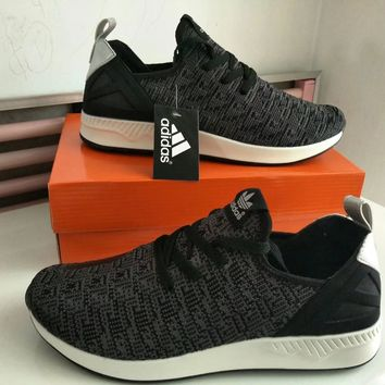 """Adidas"" Men Sport Casual Fashion Breathable Comfortable Flyknit Sneakers Running Shoes"
