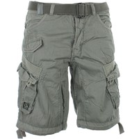 Short Cabaneli Cargo Gris Souris - LaBoutiqueOfficielle.com