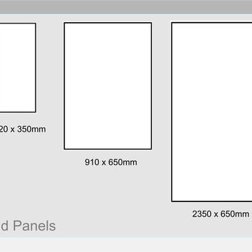 Porto Walnut Plant on Panels for the Sides of Units