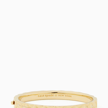 heavy metals quilted bangle | Kate Spade New York
