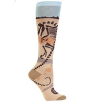 JapanLA - Dinosaur Fossil Knee High Socks
