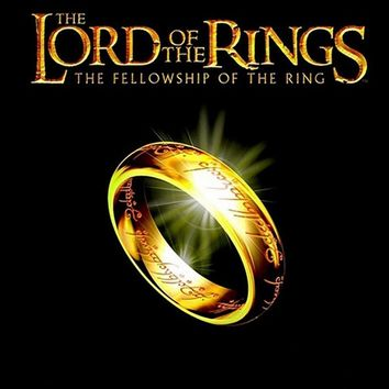 Lord of the Rings three movies around the ring king COS ring stainless steel pendant necklace jewelry gift