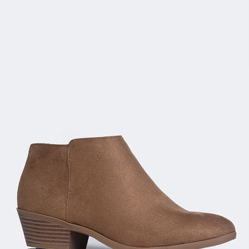 Low Western Ankle Bootie
