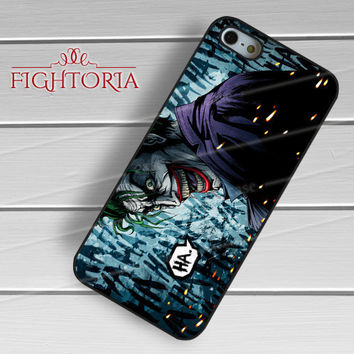 The Joker Laugh - zzZzz for iPhone 6S case, iPhone 5s case, iPhone 6 case, iPhone 4S, Samsung S6 Edge