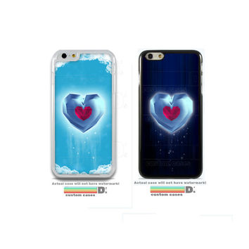 Legend of Zelda Heart Container - Original design, , Custom Phone Case for iPhone 4/4s, 5/5s, 6/6s+ and iPod Touch 5