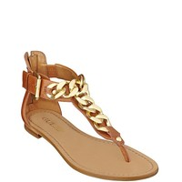 Fiefel Chain-Detail Sandals at Guess