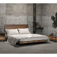 Oaktown Wood Queen Bed
