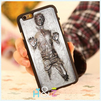 "Han Solo Carbonite Star Wars Style Custom Hard Mobile Phone Cases For iPhone 6 Case 4.7"" For iphone 6 plus 5.5"" Back Cover Skin"