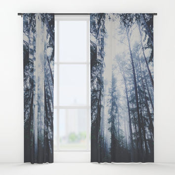 The mighty pines Window Curtains by happymelvin