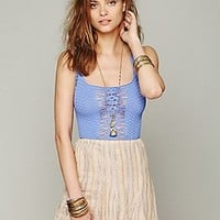 Free People Womens Cutwork Seamless Crop