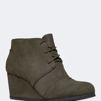 WEDGE BOOTIE