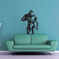 Halo Silhouette Wall Decal