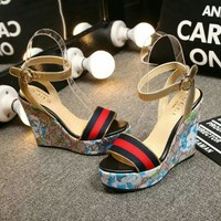 Gucci Ladies Slippers Casual Fashion Women Sandal Slipper Shoes