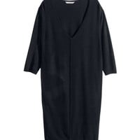 H&M - H&M+ Knit tunic - Black - Ladies