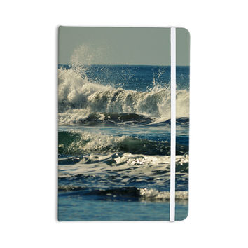 "Robin Dickinson ""Forever Young"" Blue Coastal Everything Notebook"
