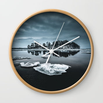 Only pieces left Wall Clock by happymelvin