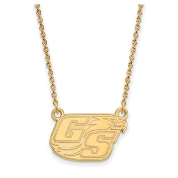 NCAA 14k Yellow Gold Georgia Southern U Small Pendant Necklace