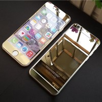 Colorful Premium Tempered Protective Mirror Effect Glass Film Screen Protector f...